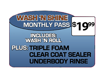 Wash And Roll Unlimited Car Wash